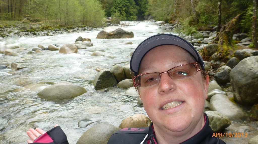 Me at Lynn Canyon Park