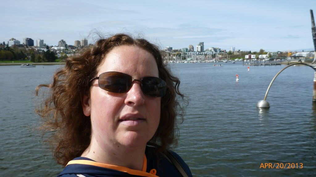 Me with Vancouver in the background
