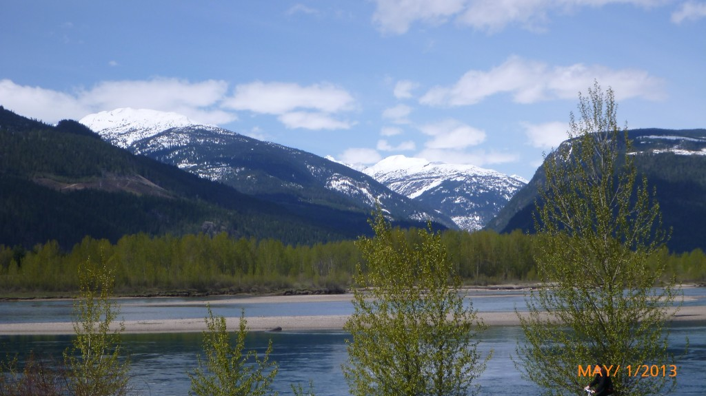 Mountains in Revelstoke