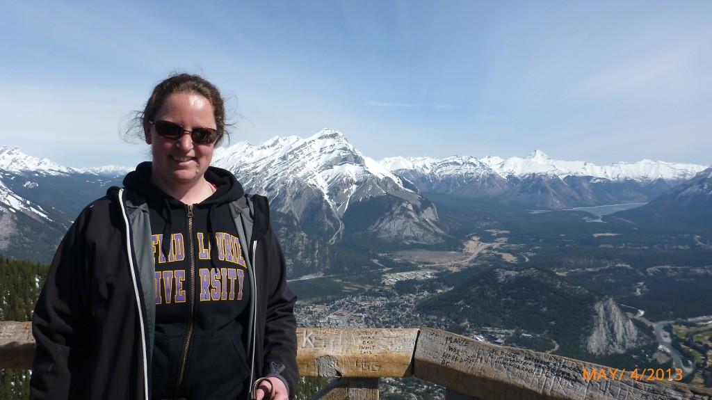 Me on Sulphur Mountain