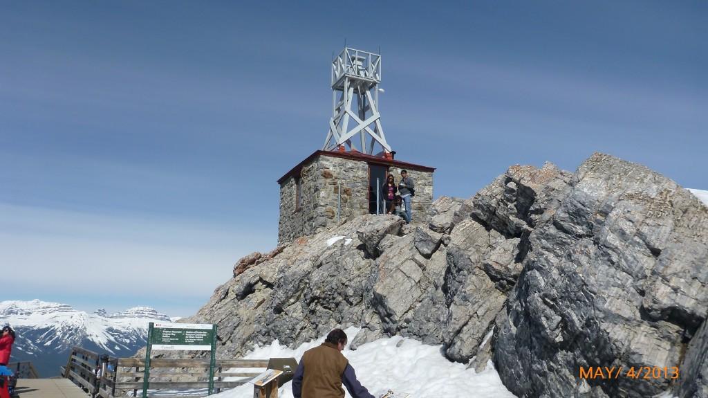 Weather observatory on Sulphur Mountain