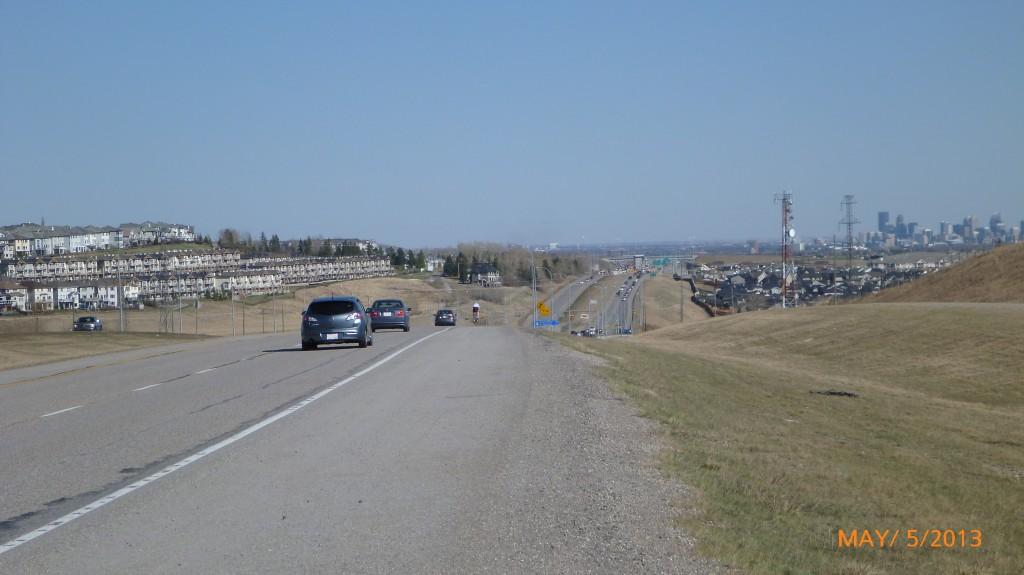The Calgary suburbs