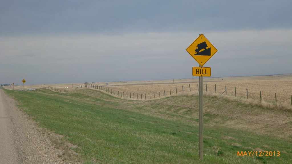 Proof that their ARE hills in the prairies!