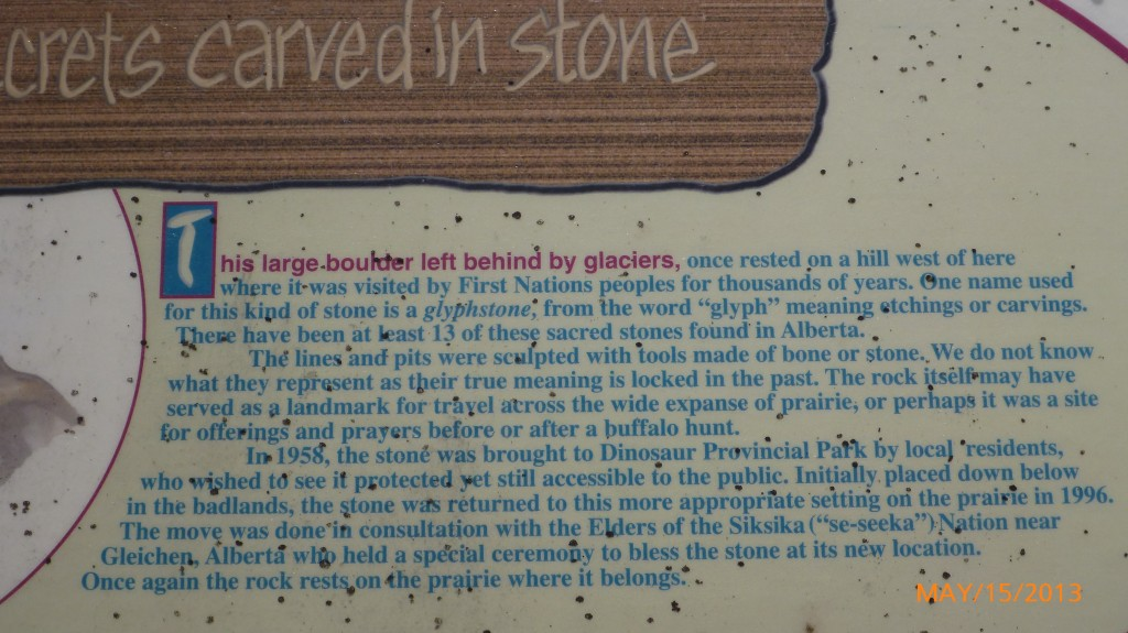 The explanation of the stone