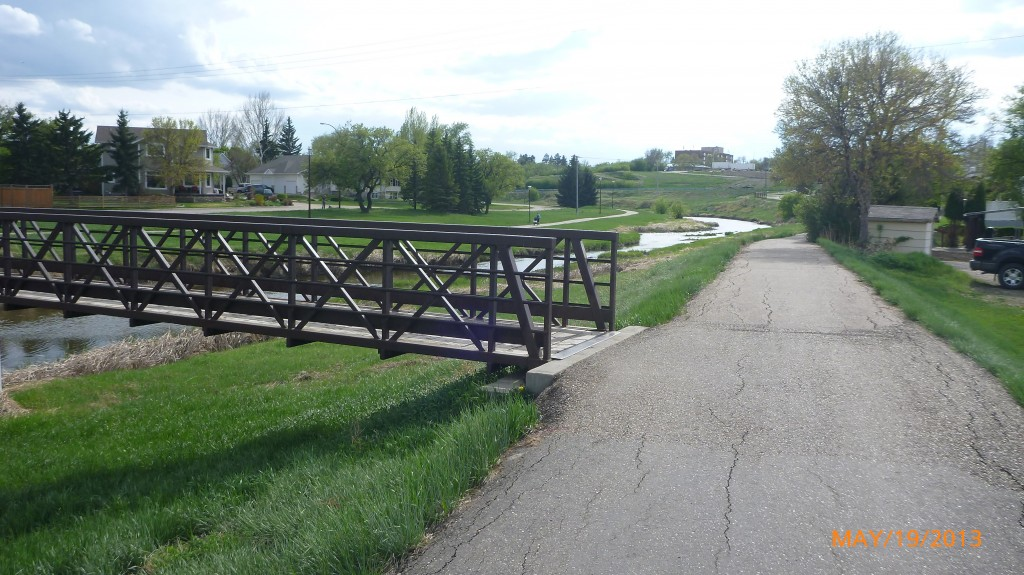 Walking/cycling trails in Swift Current