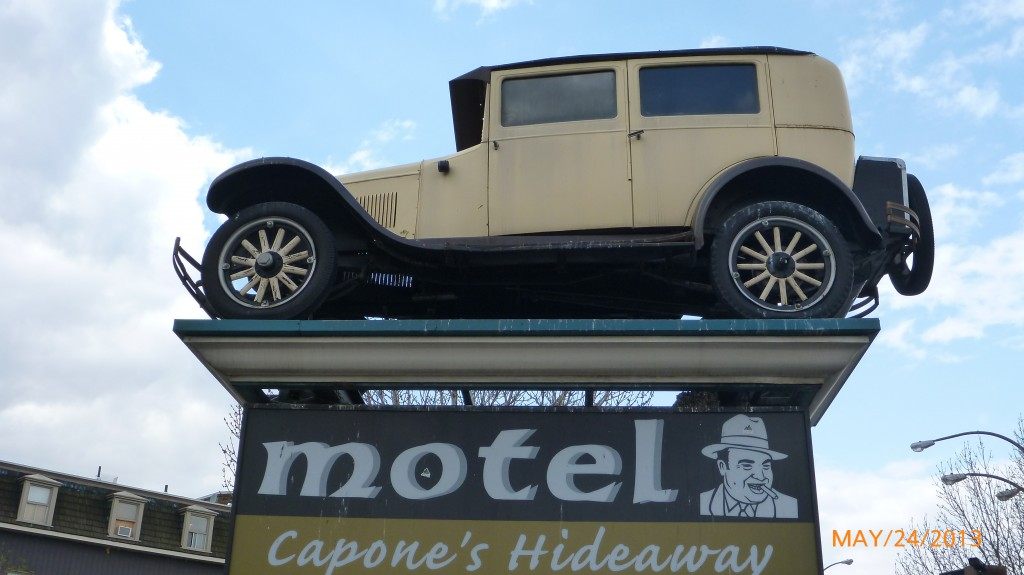 Motel trying to capitalize on the claimed Al Capone link