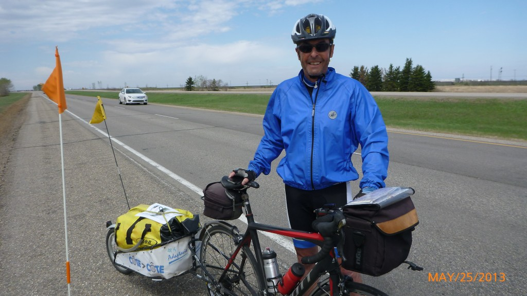 Jacques - another cross Canada cyclist