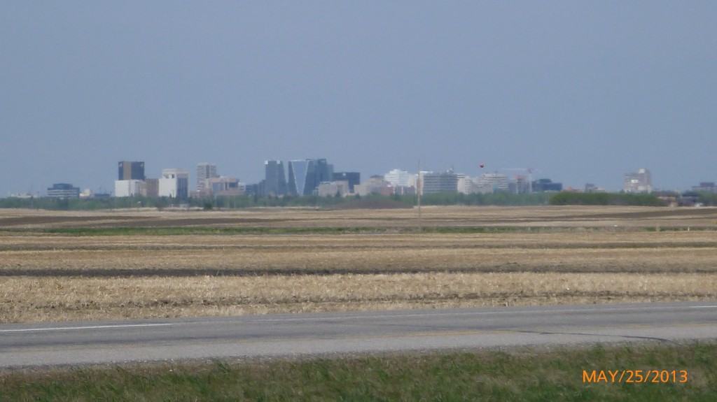 Regina from a distance