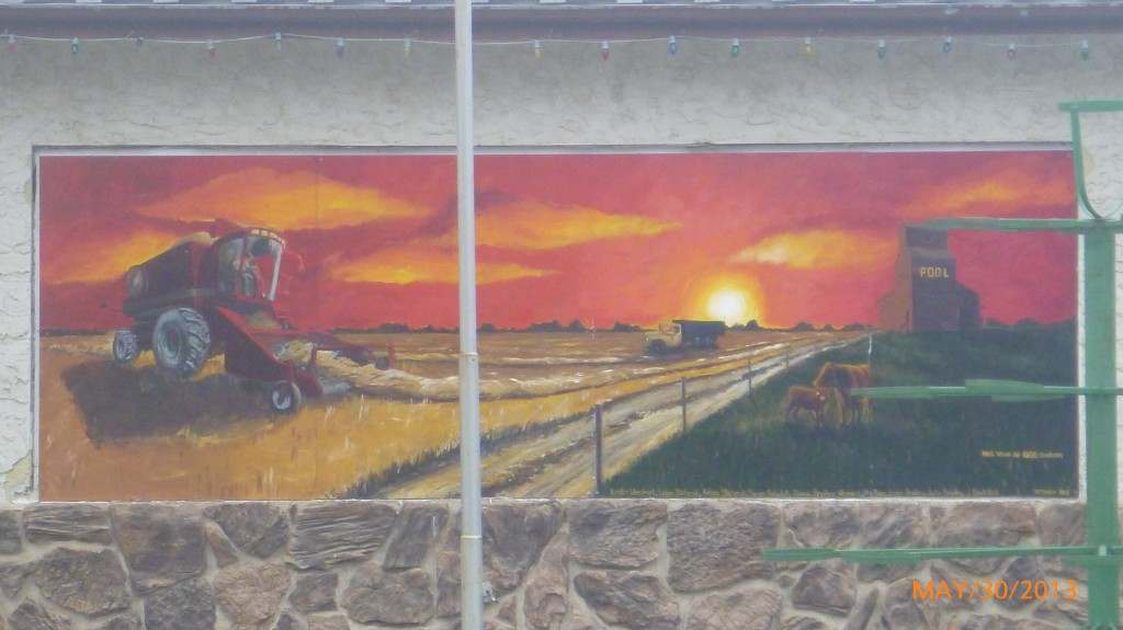 Mural in Moosomin