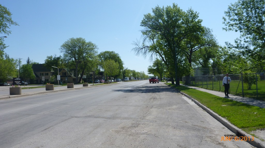 Main street Portage La Prairie