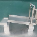 Model of said bridge