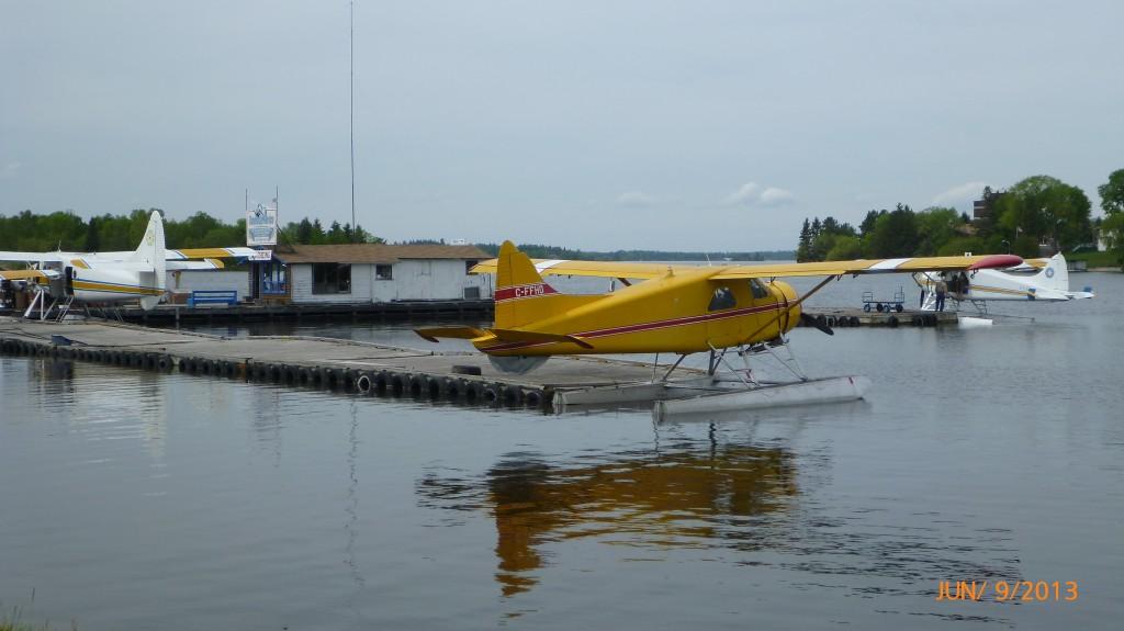 Seaplane docks