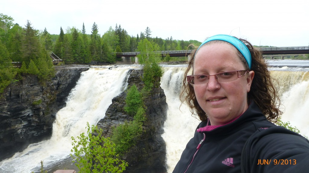 Me at Kakabeka Falls
