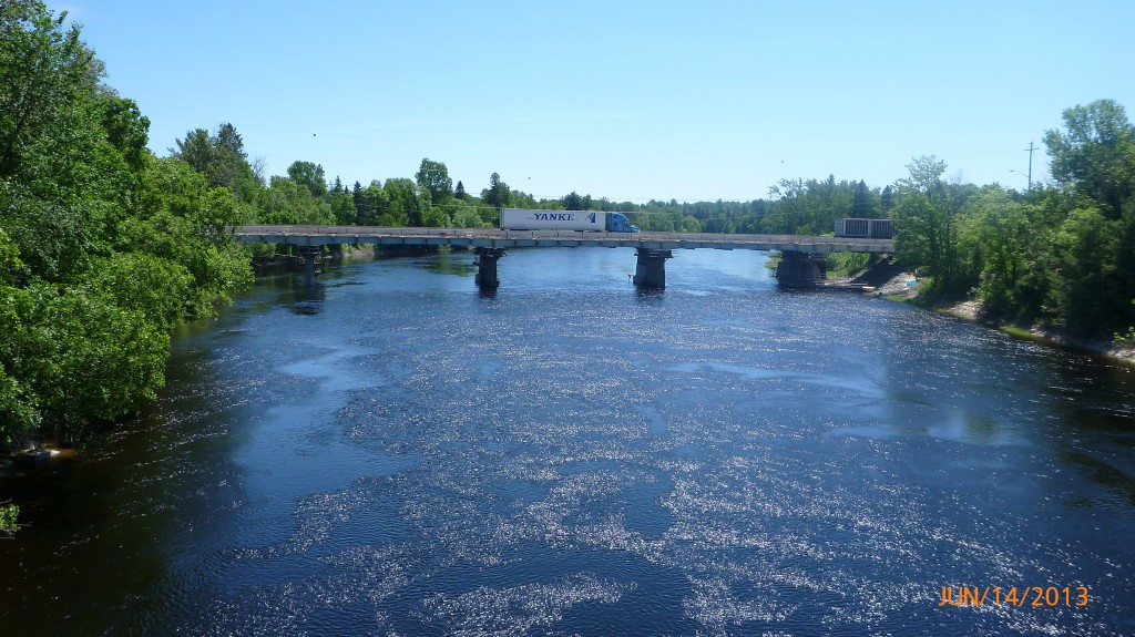 Mississaugi River at Iron Bridges