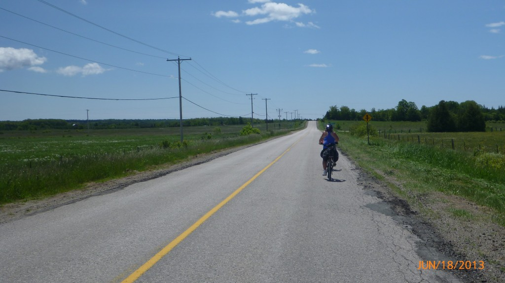 Road 551 on Manitoulin Island
