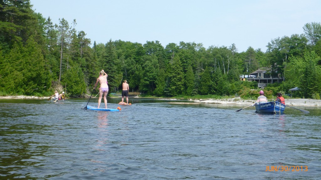 Activity on the Sauble River