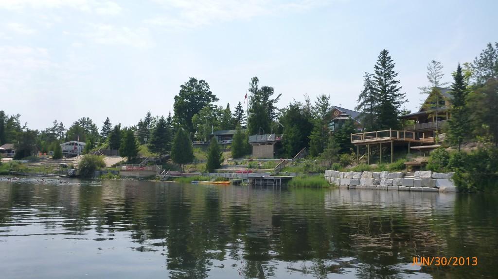 Cottages along the Sauble River