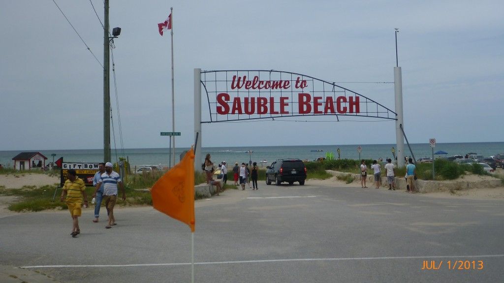 Downtown Sauble Beach