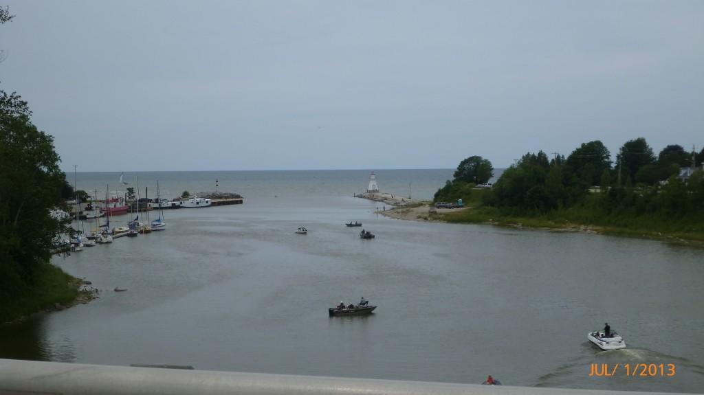 View of Lake Huron from Southampton