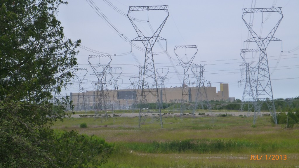 A glimpse of Bruce Power