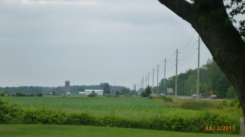 Farmland along Hwy 21