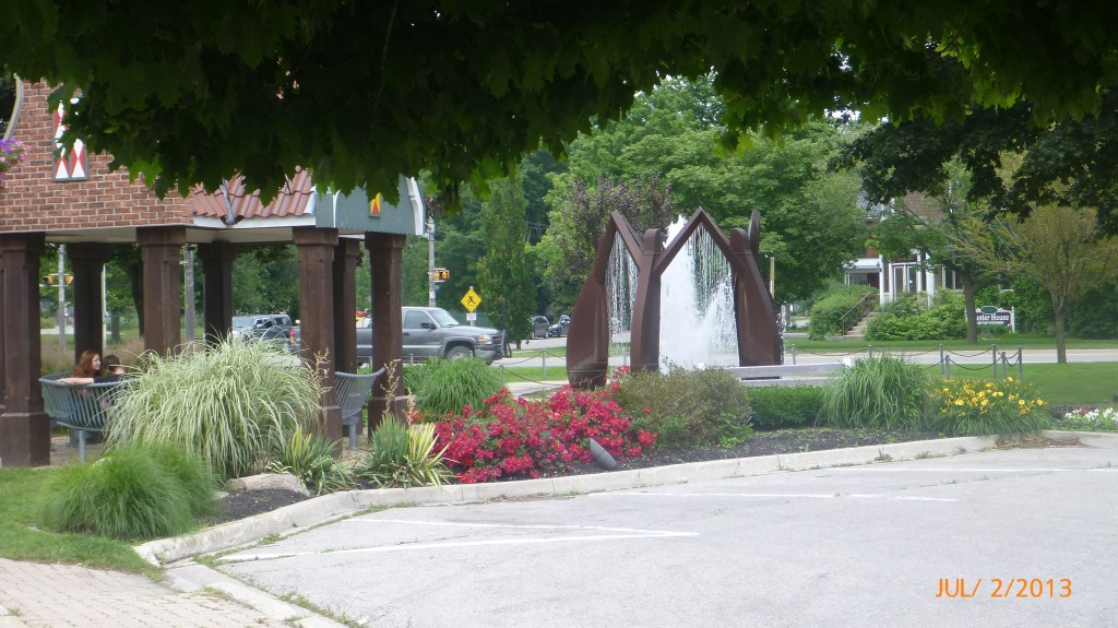 Goderich town square