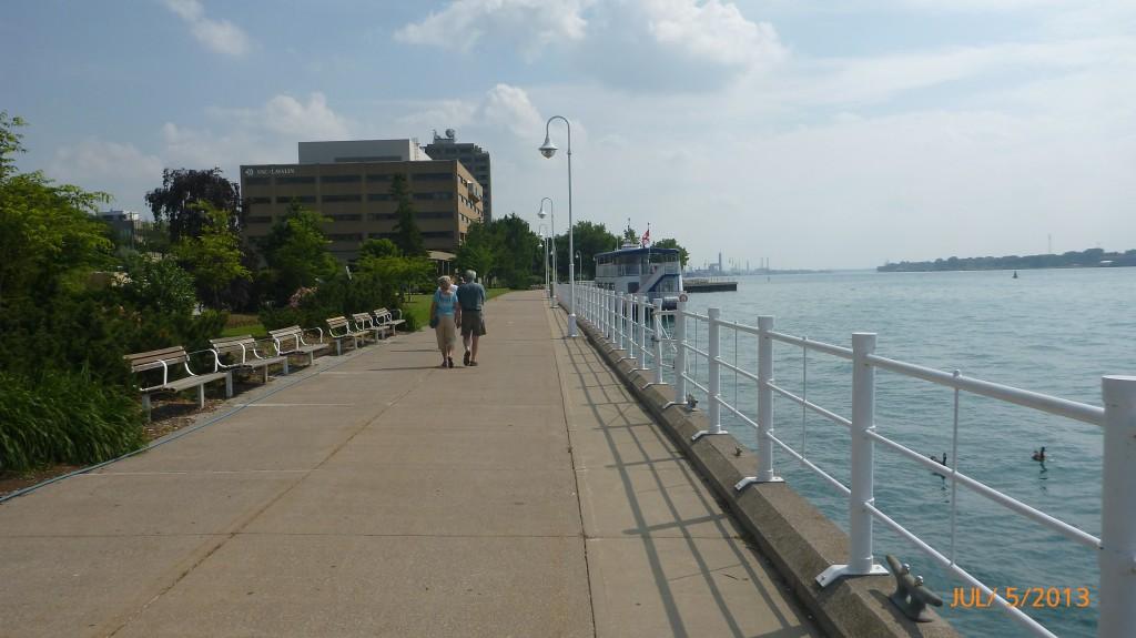 Sarnia along the waterfront