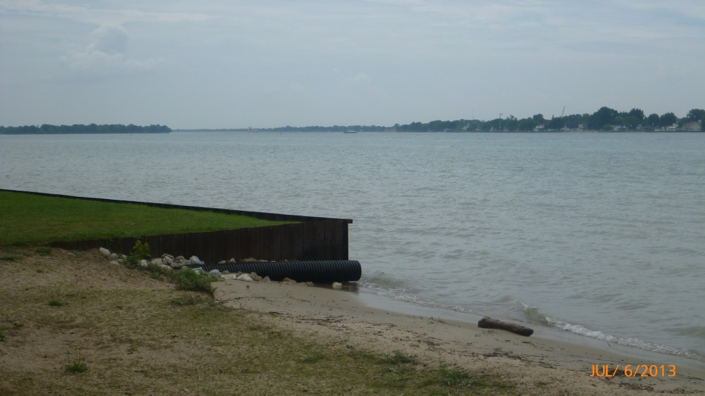 Another little beach area on St. Clair River