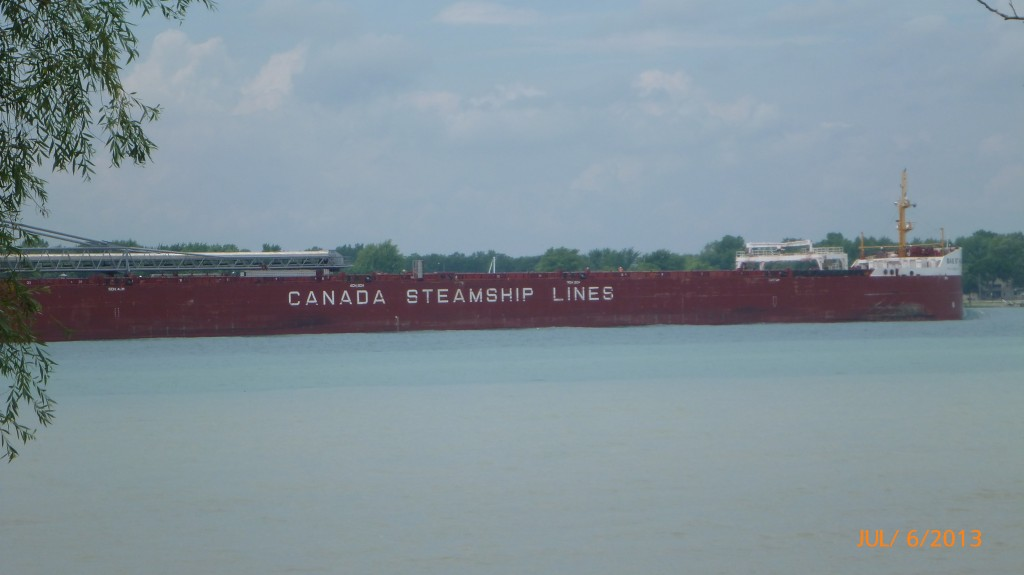 And another steamline ship!  Lots of activity on the river today.