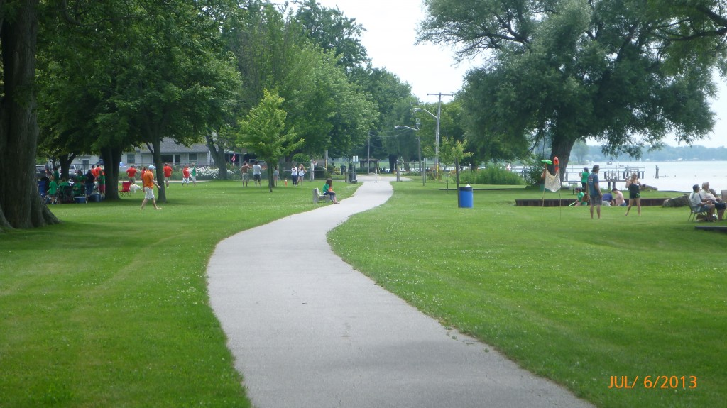 Chillin' at the park in Port Lambton