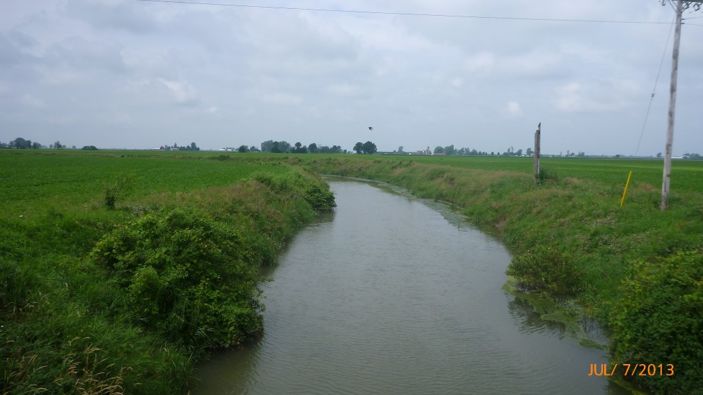 Scenery between Port Lambton and Wallaceburg