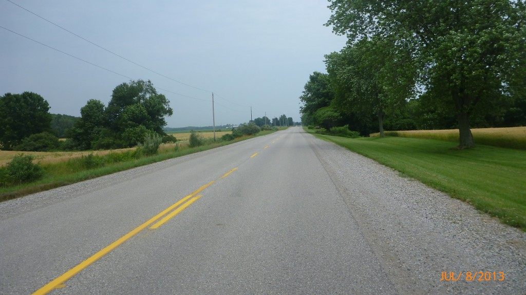 Nice quiet country roads