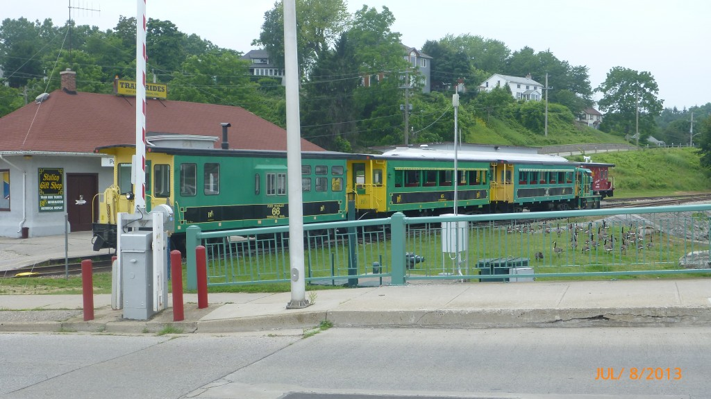 Old train in Port Stanley