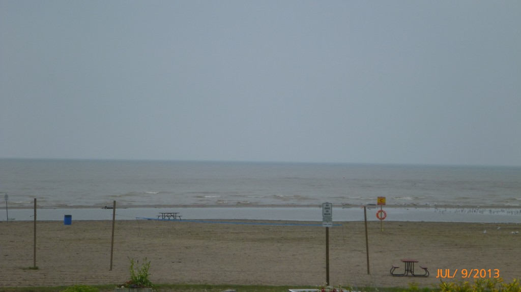 Beach at Port Burwell