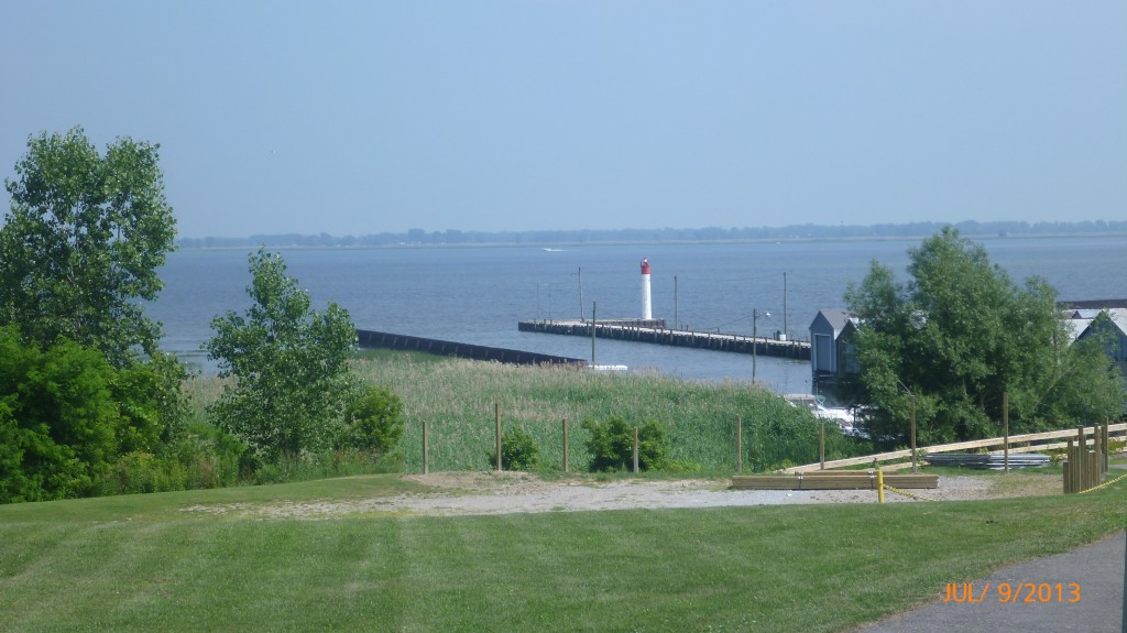 View of Lake Erie from Port Rowan