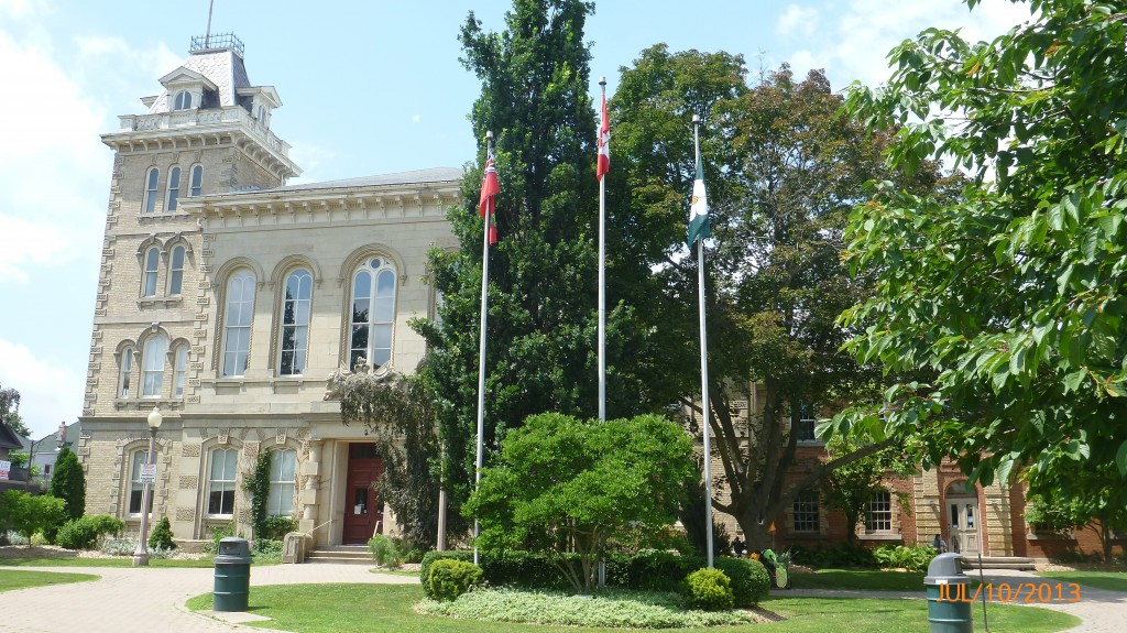 Courthouse in Simcoe