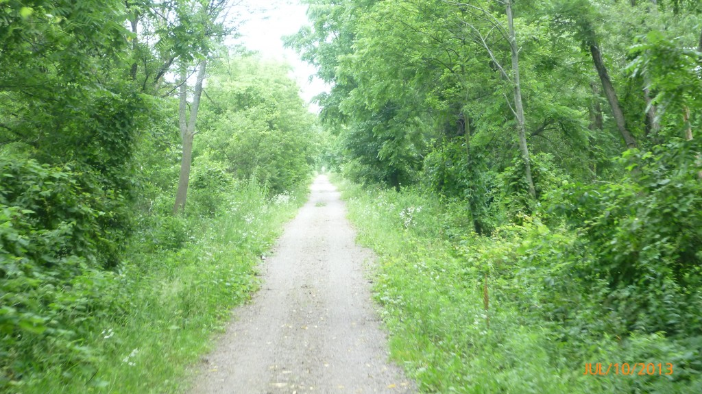 40km of wonderful trail between Simcoe and Brantford