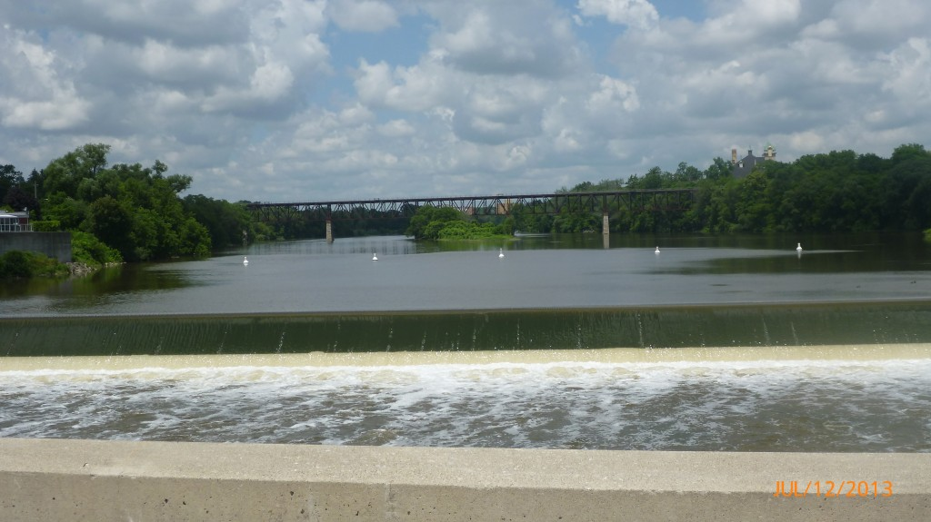 Grand River in Cambridge