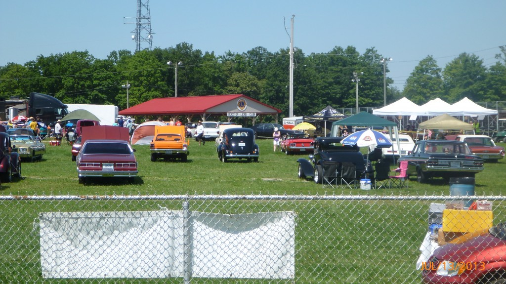 Car show in Rockton