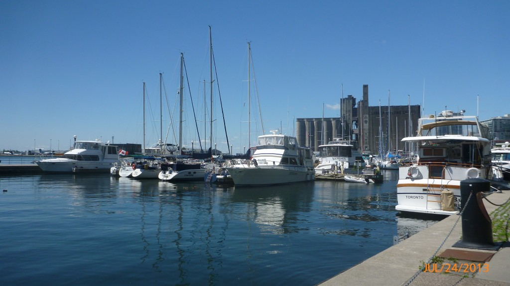 Along the water in Toronto