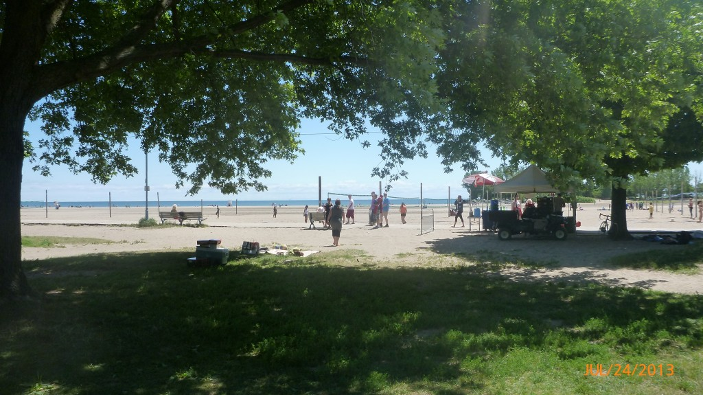 Eastern Beaches in Toronto