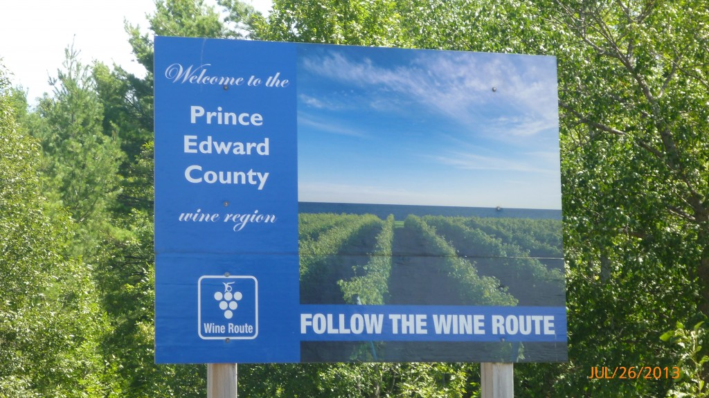 Follow the wine route?  Don't mind if I do...