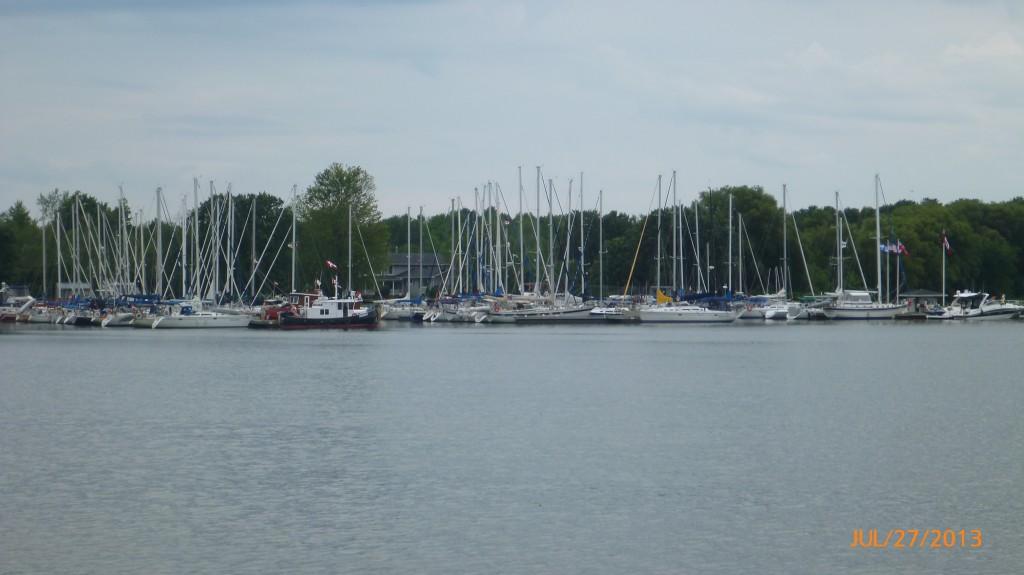 Collin's Bay heading into Kingston