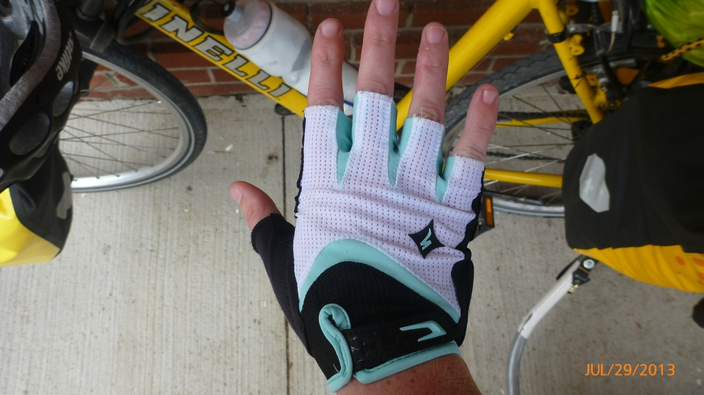 My spiffy new gloves