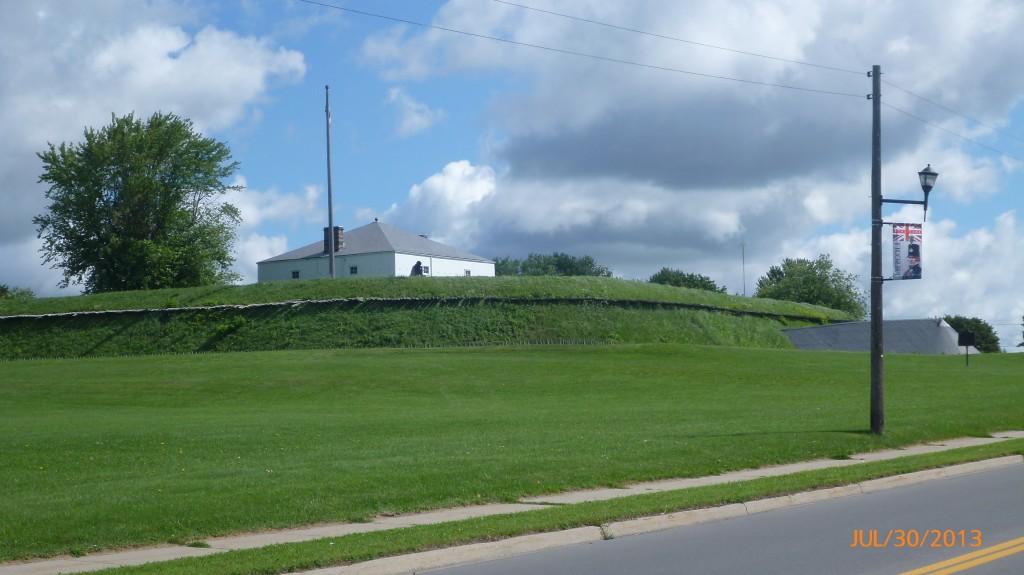 Fort at Prescott
