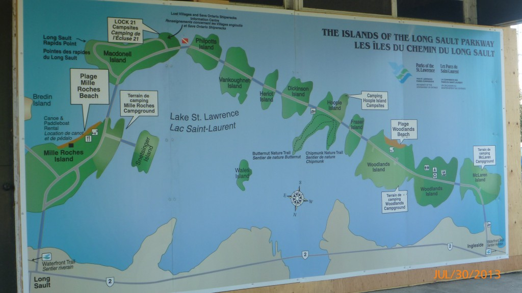 Islands of the Long Sault Parkway