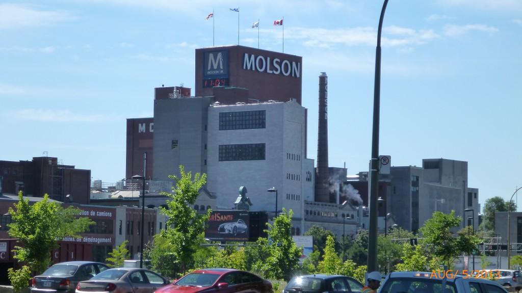 Molson plant leaving Montreal