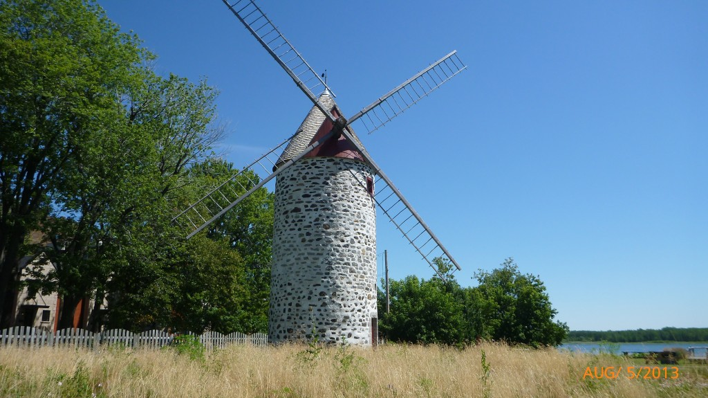 A windmill along route 138
