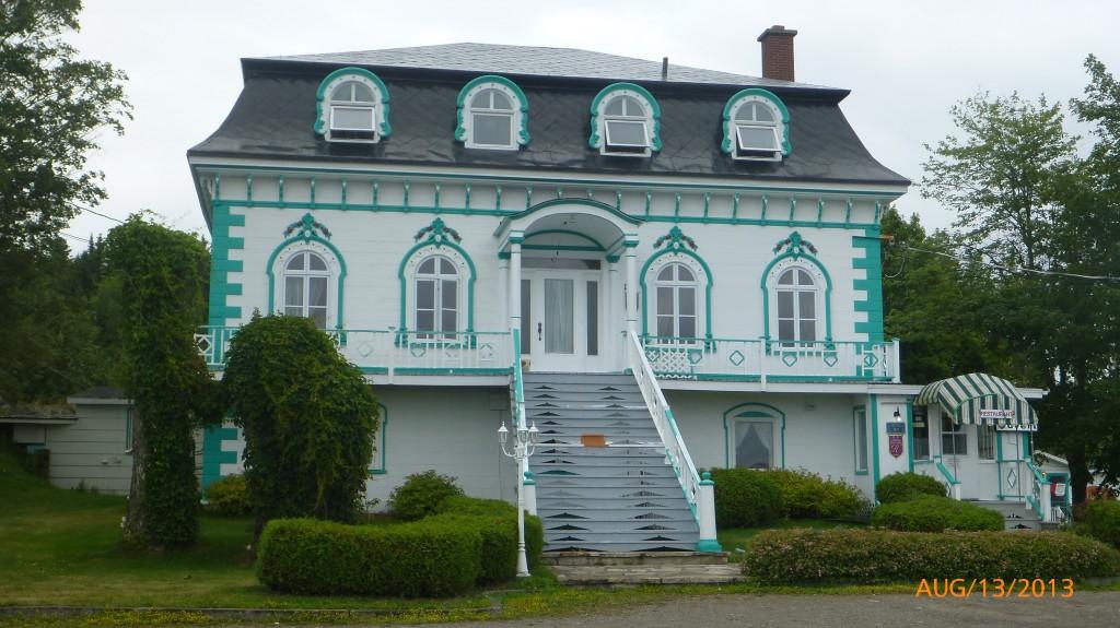 A house in Kamouraska