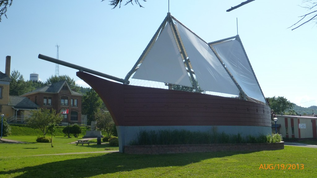 Boat shaped amphitheatre in Dalhousie